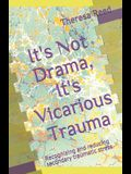 It's Not Drama, It's Vicarious Trauma: Recognizing and reducing secondary traumatic stress.