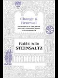 Change & Renewal: The Essence of the Jewish Holidays, Festivals & Days of Remembrance