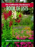 The California Gardener's Book of Lists