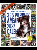 365 Puppies-A-Year Picture-A-Day Wall Calendar 2022: 365 Days of the Most Adorable, Irresistible Puppies.