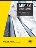 Ppi Are 5.0 Mock Exams All Six Divisions, 2nd Edition (Paperback) - Practice Exams for Each Ncarb 5.0 Exam Division