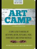 Art Camp: 52 Art Projects for Kids to Explore