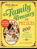 Will Shortz Presents the Family Treasury of Puzzles: 300 Fun Puzzles to Share
