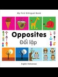 My First Bilingual Book-Opposites (English-Vietnamese)