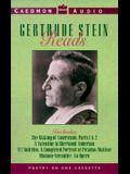 Gertrude Stein Reads