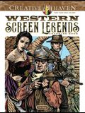 Creative Haven Western Screen Legends Coloring Book