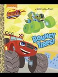 Bouncy Tires! (Blaze and the Monster Machines) (Little Golden Book)