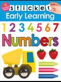Sticker Early Learning: Numbers: With Reusable Stickers