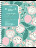 Posh: Organized Living 17-Month 2019-2020 Monthly/Weekly Planner Calendar: Dragonfruity