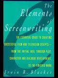 Blacker: Elements Screenwriting _p
