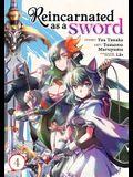 Reincarnated as a Sword (Manga) Vol. 4
