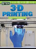Stem: 3-D Printing: Adding and Subtracting Fractions