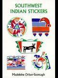 Southwest Indian Stickers: 24 Pressure-Sensitive Designs