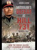 Mussolini's Defeat at Hill 731, March 1941: How the Greeks Halted Italy's Albanian Offensive