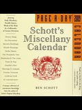 Schott's Miscellany Page-A-Day Calendar