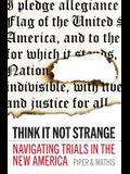 Think It Not Strange: Navigating Trials in the New America