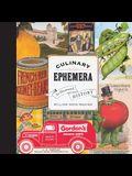 Culinary Ephemera: An Illustrated History