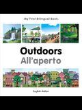 My First Bilingual Book-Outdoors (English-Italian)