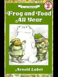Frog and Toad All Year Book and Tape [With Book]