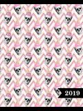 Wochenplaner 2019: Terminplaner & Wochenkalender: 19 X 23 CM: Sch