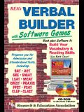 Verbal Builder for Admission and Standardized Tests W/ CD-ROM [With CDROM for Windows and Macintosh]