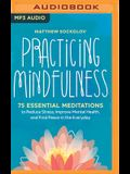 Practicing Mindfulness: 75 Essential Meditations for Finding Peace in the Everyday