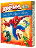 Spider-Man Little Golden Book Library (Marvel): Spider-Man!; Trapped by the Green Goblin; The Big Freeze!; High Voltage!; Night of the Vulture!
