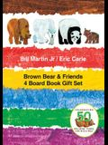 Brown Bear & Friends 4 Board Book Gift Set