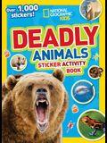 National Geographic Kids Fierce Animals Sticker Activity Book: Over 1,000 Stickers!