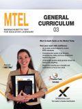 2017 MTEL General Curriculum (03)