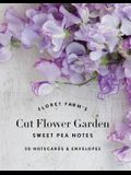 Floret Farm's Cut Flower Garden: Sweet Pea Notes: 20 Notecards & Envelopes (Gifts for Floral Designers, Floral Thank You Cards, Floral Note Cards)