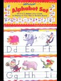 Alphatales: Alphabet Set: 26 A to Z Jumbo Letter Cards to Display on Your Wall or Bulletin Board [With Teaching Guide]
