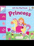 Lift-The-Flap Friends: Princess