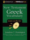 New Testament Greek Vocabulary