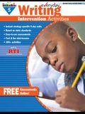 Everyday Writing Intervention Activities Grade 5 Book Teacher Resource
