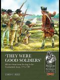 'they Were Good Soldiers': African-Americans Serving in the Continental Army, 1775-1783