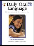 Daily Oral Language, Grades 3 - 5: 180 Lessons and 18 Assessments