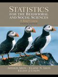 Statistics for the Behavioral and Social Sciences Value Package (Includes Study Guide and Computer Workbook for Statistics for the Behavioral and Soci