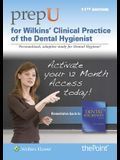 Prepu for Wilkins' Clinical Practice of the Dental Hygienist