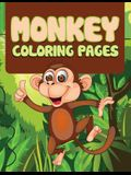 Monkey: Coloring Book For Kids- Awesome Fun