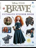 Ultimate Sticker Book: Brave: More Than 60 Reusable Full-Color Stickers
