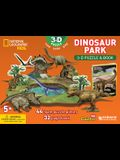 National Geographic Dinosaur Park: 3D Puzzle and Book [With Book(s)]