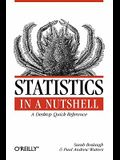 Statistics in a Nutshell: A Desktop Quick Reference (In a Nutshell (O'Reilly))