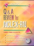 Saunders Q&A Review for NCLEX-RN (Book with CD-ROM for Windows, Individual Version)