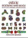 Celtic Stickers and Seals: 90 Full-Color Pressure-Sensitive Designs