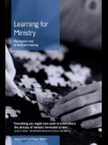 Learning for Ministry: Making the most of study and training