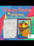 Color by Number Coloring Books for Older Kids and Teens