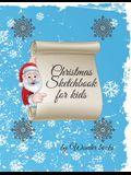Christmas Sketchbook for kids