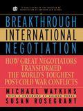 Breakthrough International Neg