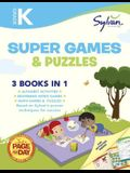 Kindergarten Super Games & Puzzles (Sylvan Super Workbook) (Language Arts Super Workbooks)